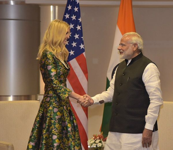 Ivanka Trump Visits Hyderabad- When will you?
